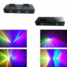 NEW ITEM 4 Lens 500mW Red+Green+Yellow+Blue DMX Laser DJ Stage Lighting