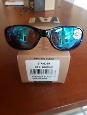 New Costa Del Mar Stringer Green Mirror 580G Shiny Black ST 11 OGMGLP sunglasses