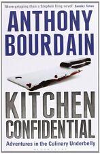 Kitchen Confidential,Anthony Bourdain- 9780747553557
