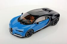 Bugatti Chiron Le Patron Light Blue in 1:18 scale by MR Collection BUG06A