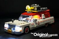 LED Lighting kit for your 75828 Ghostbusters™ Ecto-1 & 2 (2nd Movie Version)