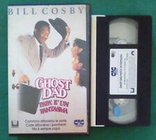 VHS Film Ita Comico GHOST DAD Papa'E'Un Fantasma BILL COSBY ex nolo no dvd(V103)