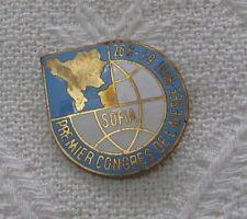 BALKANS 1st-CONGRESS INTERNATIONAL ASSOCIATION SOUTH EAST EUROPEAN STUDI BADGE