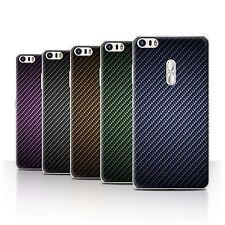 STUFF4 Case/Cover for Asus Zenfone 3 Ultra ZU680KL/Carbon Fibre Effect/Pattern