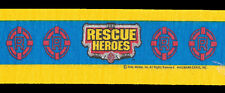 2 Rolls Crepe Paper STREAMERS Fisher Price RESCUE HEROES Birthday Party Supplies