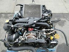 JDM SUBARU LEGACY GT EJ20X 2.0L AVCS TURBO ENGINE MOTOR EJ20 ECU 8B SUB HARNESS