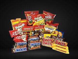 Riesen Süßigkeiten Paket - SnackBox für Zuhause