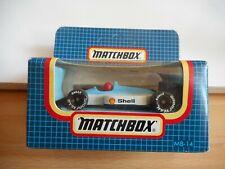 Matchbox Grand Prix Racing Car in White/Blue in Box