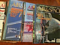 AIR & SPACE MAGAZINE 40 issues 1991 to 2000. Very good SMITHSONIAN HELICOPTERS