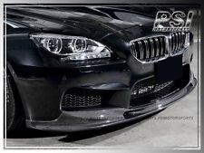 BMW 2014+ F12 F13 F06 M6 Coupe Convertible 3D Style Carbon Fiber Front Lip