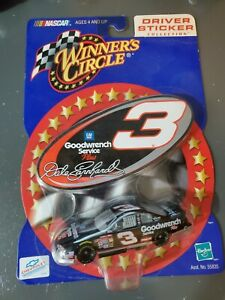 Winners Circle Hasbro 2000 Dale Earnhardt 1/64 Driver Sticker Collection