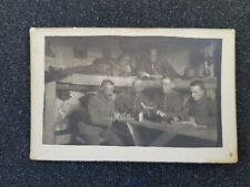 WWI German Photo, Soldiers in a dugout
