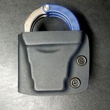 Kydex Handcuffs case, for ASP Model 200 Hinge, Fits 2-1/4 Duty Belt, T. Pattern