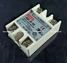 1pcs solid state relay SSR-50AA 50A 80-250VAC/24V-380VAC AC-AC