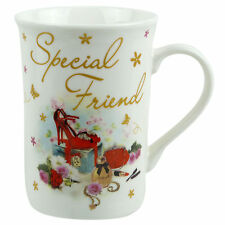 New Special Friend China Mug with Sentimental Message Gift Boxed Mate