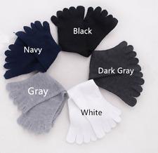 5pair Five Toe Mens Socks Common Size Toe Socks Men Socks Cotton Sports Socks