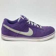 Nike 6.0 SB Dunk Low Sneakers Men's Size 11 Shoes Purple White 407609-003