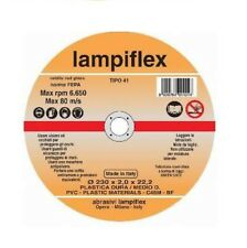 Disco Taglio Plastica Lampiflex 115x1,6 mm _ tubi, profilati, plexiglass
