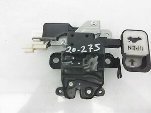 2016-2019 Mazda Mx-5 Miata Rear Trunk Latch Lock Unit Na1j-56-820 W/O Hard Top