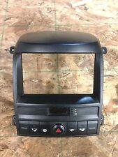 2003 kia sorento radio bezel trim w/ clock 4-way & heated seat switch 2003-2006