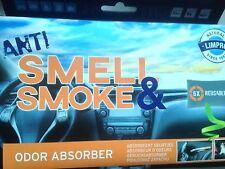 Geruchs Killer Kissen 1 x 400 g bis zu 6 x wiederverwendbar Auto Camping Boot