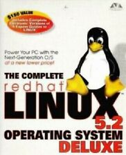 The Complete Red hat Linux Operating System 5.2 Deluxe PC CD desktop OS tools!