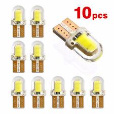 10Pcs T10 194 168 W5W COB 8SMD LED Silica License Light Bulb Bright White Hot