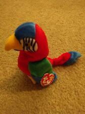 """The Beanie Babies Collection, """"Jabber"""" the Parrot, Excellent condition"""