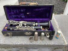 Selmer F. Barbier Paris Wooden Clarinet W/ Buffet Mouth Piece