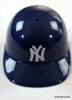 Vintage MLB New York Yankees Plastic Batting Helmet Full Size - Vintage USA Made