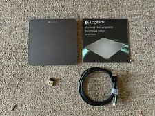 Logitech Rechargeable Touchpad T650 with Windows 8 Multi-Touch Navigation Black