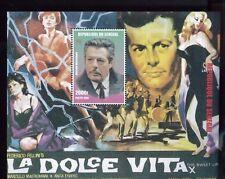 FEDERICO FELLINI'S La Dolce Vita Souvenir Sheet #1349 MNH - Senegal E4