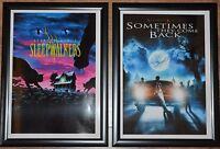 Stephen King A4 Framed Movie Pictures - Sleepwalkers/Sometimes They Come Back