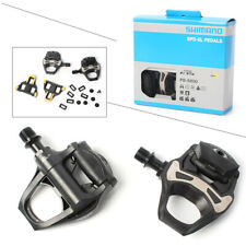 "Clipless Pedals New  105 PD-5800 Carbon SPD-SL 9/16"" Road Bicycle Bike 1 Pair"