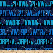 Fat Quarter Doctor Who Worp 100% Cotton Quilting Fabric Springs Fabric 57132