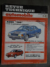 REVUE TECHNIQUE AUTOMOBILE RTA AUDI 100 CITROEN BX