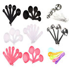 Kitchen tools Measuring Spoons Cups steel Plastic Baking Cooking Coffee Tea New
