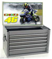 VALENTINO ROSSI 46 THE DOCTOR - PRINTED DECAL STICKER - TOOL BOX STICKER #2