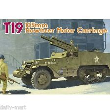 Dragon 1/35 6496 T19 105mm Howitzer Motor Carriage Model Kit
