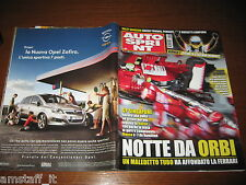 AUTOSPRINT 2008/40=GP F1 SINGAPORE=ALONSO=TEST VW GOLF VI=RALLY SANREMO=