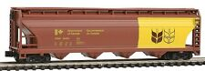 N GAUGE-MODEL POWER-83492-GOVERNMENT OF CANADA 55' 4-BAY COVERED HOPPER #601073