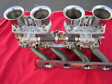 LANCIA SCORPION DUAL IDF INTAKE MANIFOLD, NEW, ACCEPTS WEBERS OR EMPI CARBS
