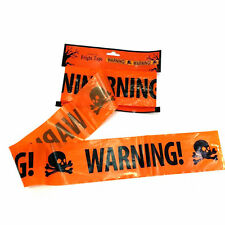 Halloween Party Warning Tape Signs Decoration Window Prop Decoration Plastic E7