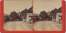 Watkins' New Series stereoview # 3540 (1860's) Street view in Jacksonville, Cal