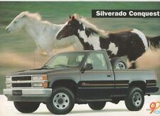 Chevrolet Silverado Conquest pick-up (made in Brazil)_1998 Prospekt / Brochure