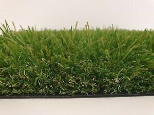 £10.99artificial 45mm Realistic Artificial Grass Soft Natural  4m Wide £10.99