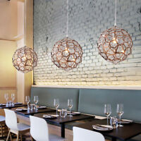 Modern Pendant Light Kitchen Ceiling Lights Bar Rose Gold Chandelier Lighting