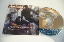 ANTIDOTE CD SINGLE PROMO CARDSLEEVE CHOC DES CULTURES.