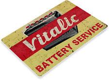 TIN SIGN Vitalic Metal Décor Wall Art Oil Gas Garage Shop Bar A698
