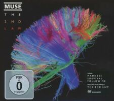 MUSE - THE 2ND LAW (LIMITED EDITION)  CD + DVD  15 TRACKS ALTERNATIVE ROCK NEW!